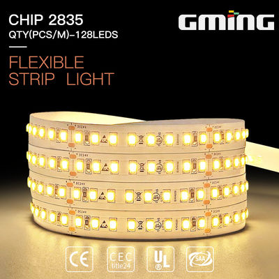 22W IP20 2080-2130lm SMD 2835 LED Strip Vỏ nhôm